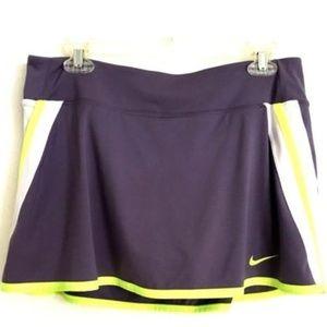 Nike Skort Purple Dri-Fit Power Skirt 523541-566